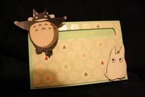 Carte totoro