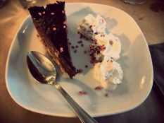 Le moelleux au chocolat praliné